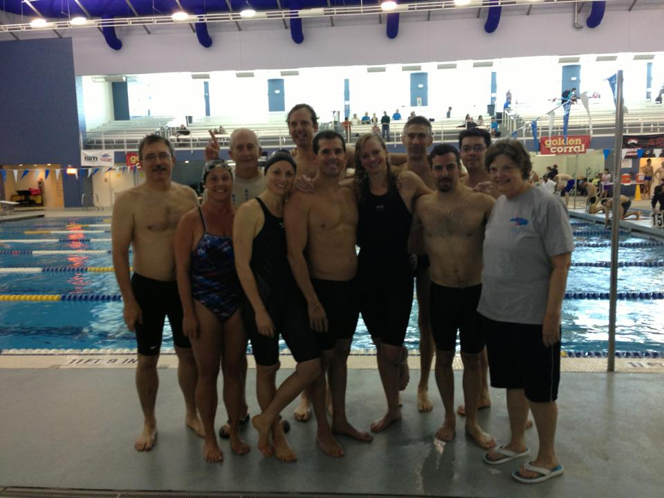 RAM swimmers at TAC Meet - 2013
